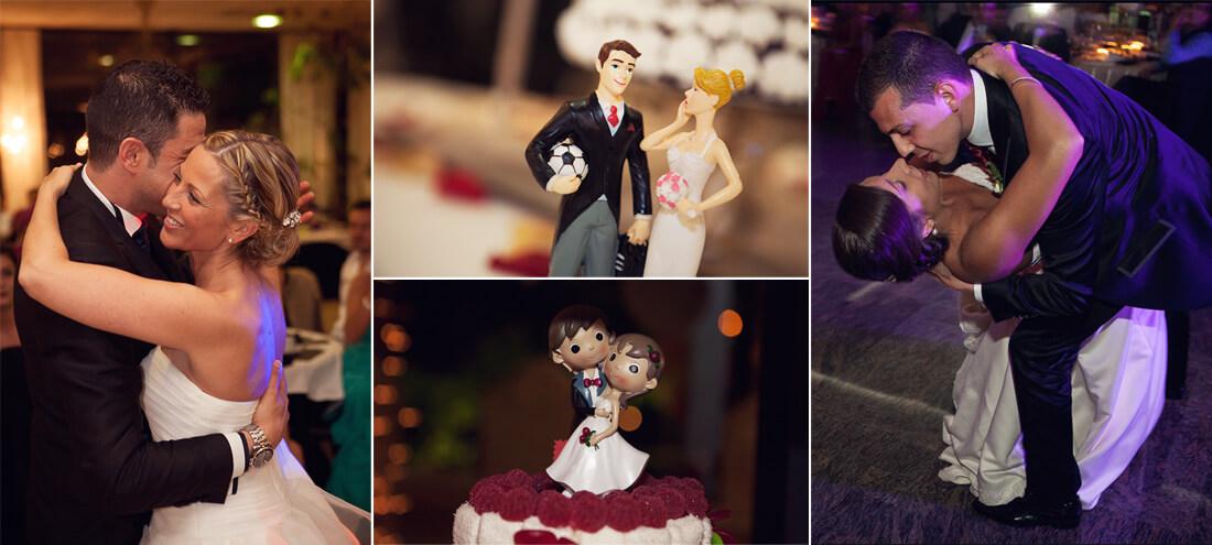 silvafoto: baile novios, tarta de boda